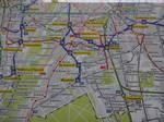 2013年ミュンヘン 路線図